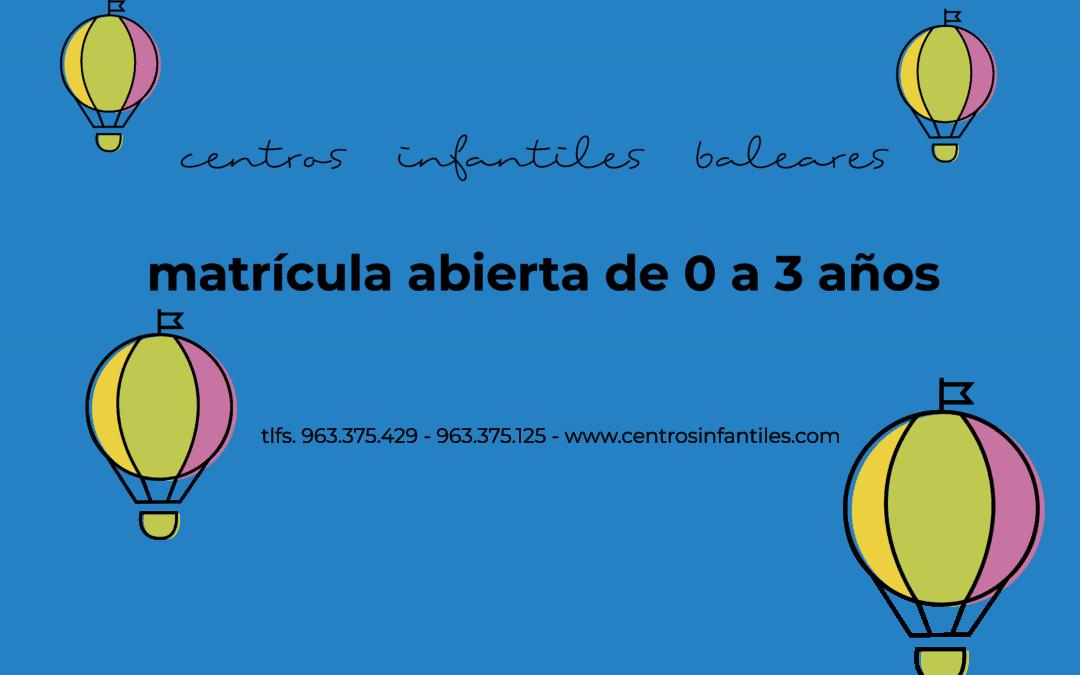 Matrícula abierta 2019-2020