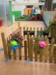 Patio centros infantiles en Valencia