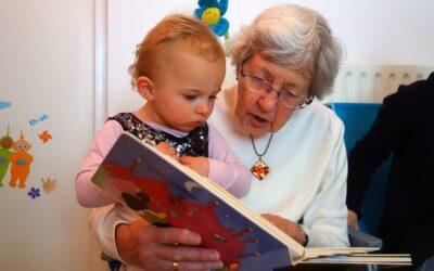Los abuelos y cómo interactúan con los peques